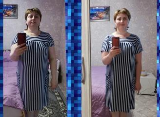 Похудела за два месяца на 18 кг